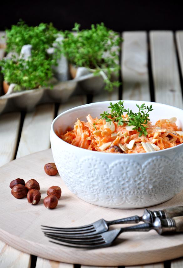morrocan carrot salad aka keto version of carrotcake