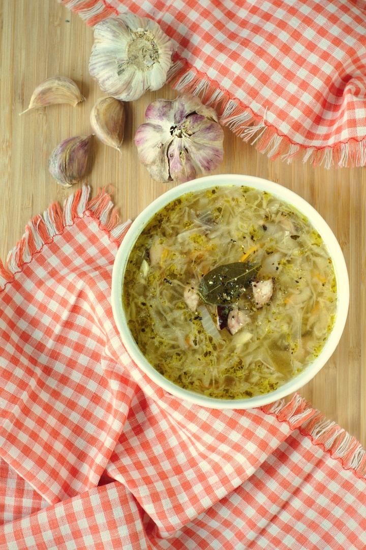 keto sauerkraut soup