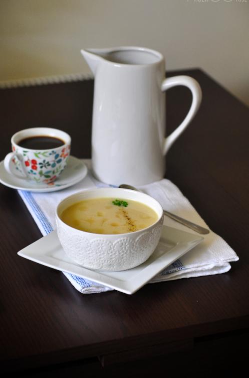 creamy cauliflower & cheddarsoup