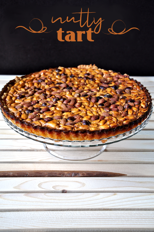 deliciously nutty tart (and it's keto friendly and gluten free option)