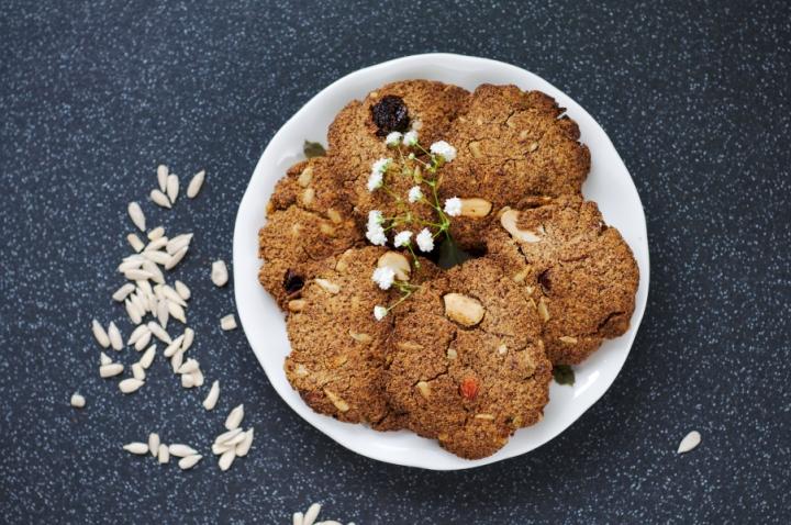 linseed (flaxseed) biscuits #keto #glutenfree #nosugar#noflour