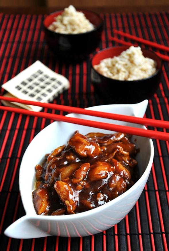 honey & garlic orientalchicken
