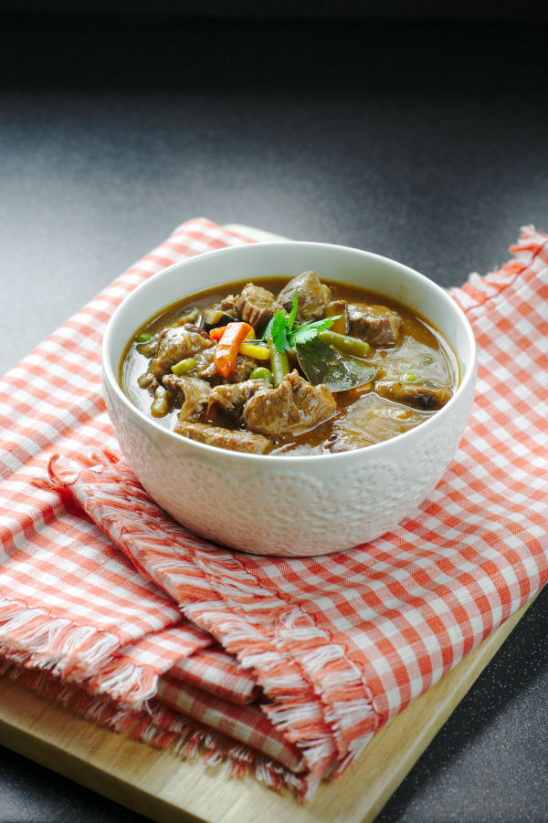 beef shin (shank) stew (or soup)