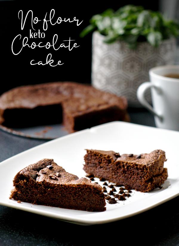 keto no flour chocolate cake
