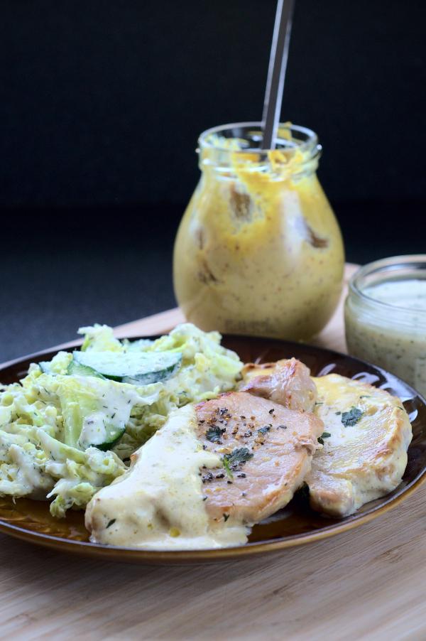 pork chops in mustard