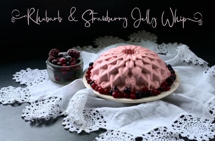 rhubarb & strawberry jellywhip