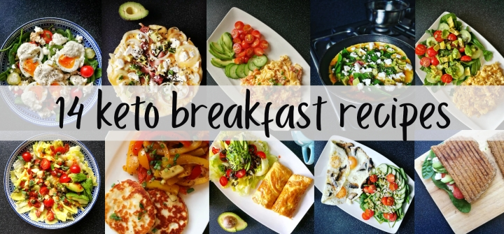 2 weeks of quick keto breakfast recipes (based on my Instagram page)