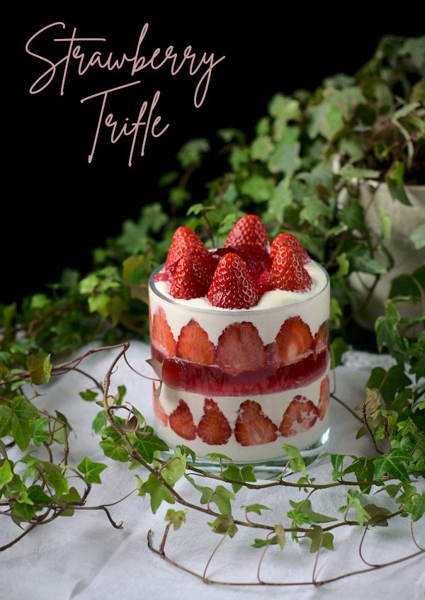 This image has an empty alt attribute; its file name is keto-strawberry-trifle.jpg