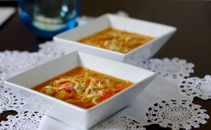 Mary Berry inspired – minestrone soup (regular, keto and veganoption)
