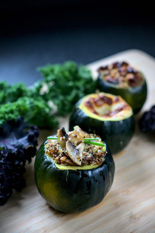 3 easy ways to bake gem squash (keto,vegan and vegetarian)