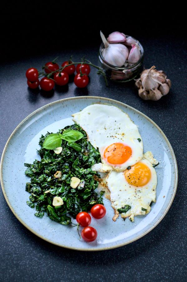 quick & easy stir fried collardgreens
