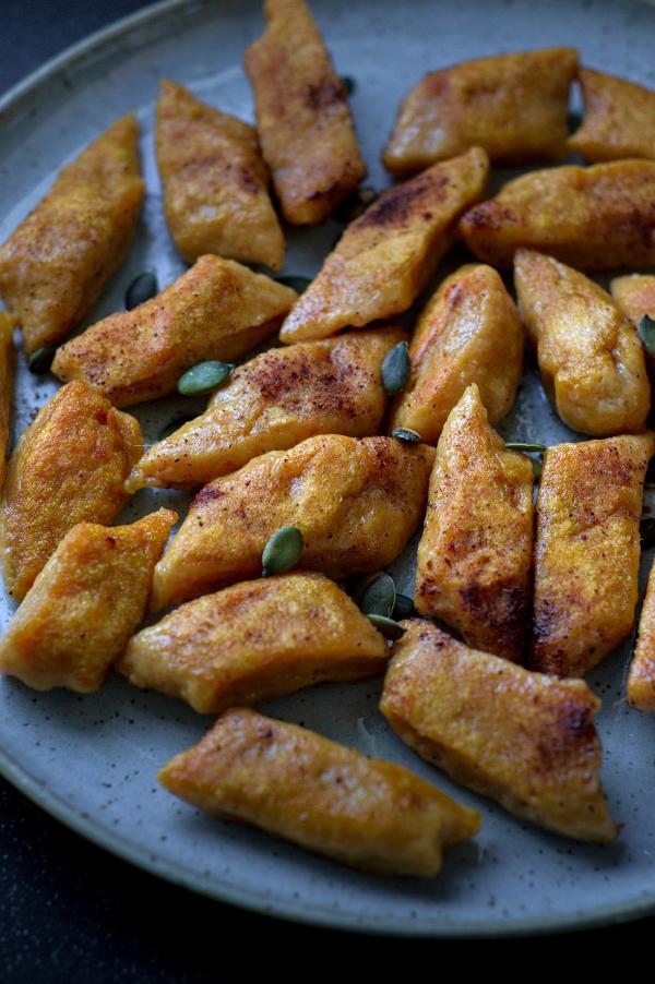 cinnamon sweet potato gnocchi